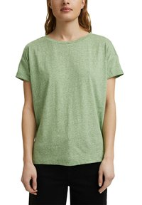 Esprit - PER COO CLOUDY - Basic T-shirt - leaf green - 9
