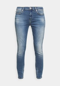 True Religion - HIGHRISE HALLE - Jeans Skinny Fit - denim blue - 4