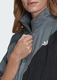 adidas Originals - ADICOLOR SLICED TREFOIL  - Training jacket - blue - 4