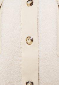 PIECES Tall - PCASILLA JACKET  - Short coat - white pepper - 2