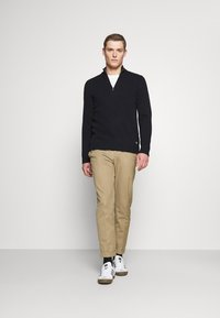 Marc O'Polo - TROYER ZIPPER - Jumper - total eclipse - 1
