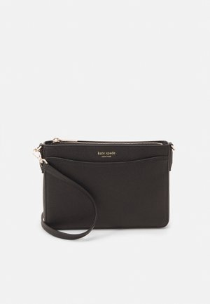 MARGAUX MEDIUM CONVERTIBLE CROSSBODY - Across body bag - black