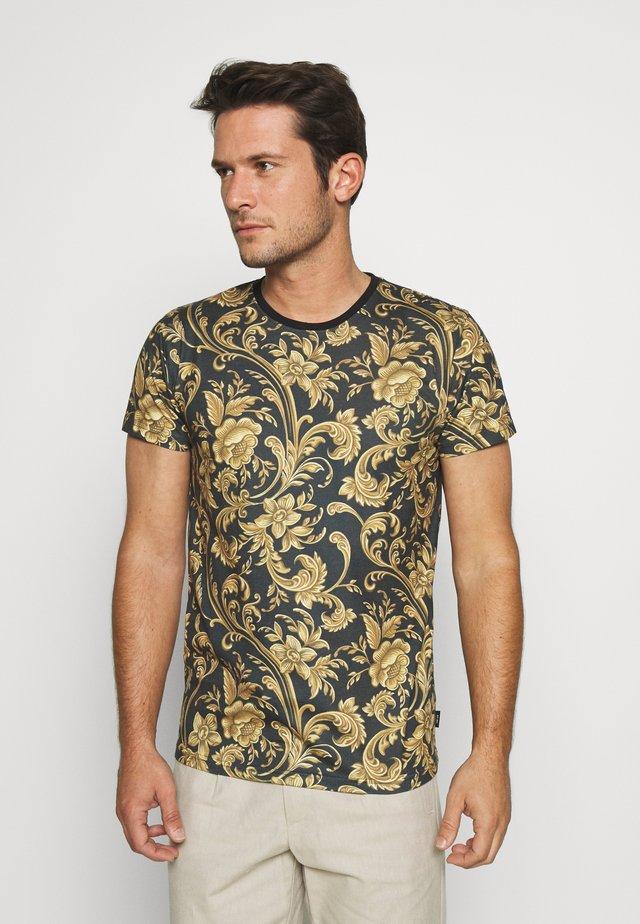 TOLEDO - T-shirt con stampa - black