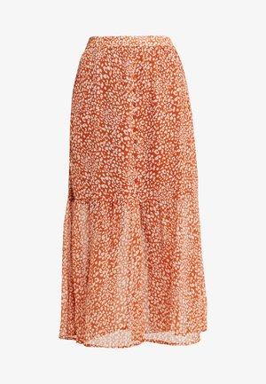 KAFLORINA SKIRT - A-line skirt - ginger bread