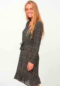 Noella - ARI - Day dress - camel flower - 0