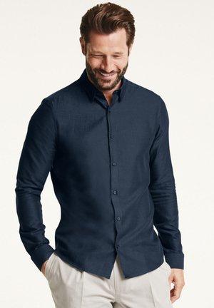 SIGNATURE HERRINGBONE - Formal shirt - blue