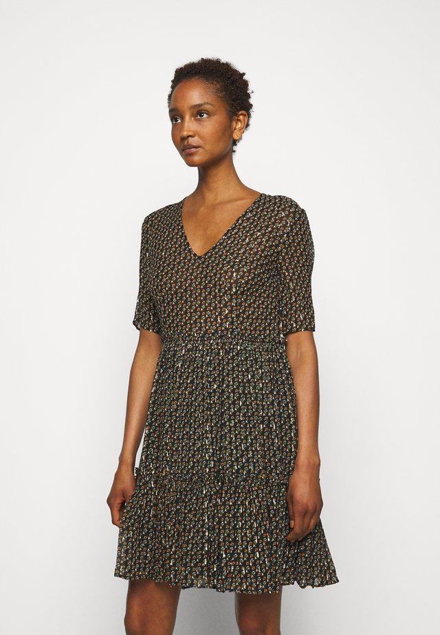 RAUCHA - Denní šaty - black