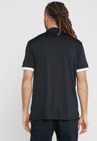 Nike Golf - DRY VAPOR - T-shirt de sport - black/white - 2