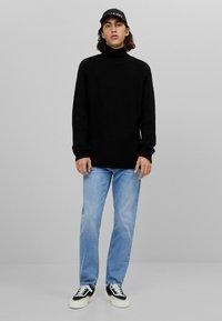 Bershka - Jeans slim fit - blue denim - 1
