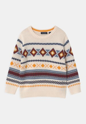 KIDS BOYS  - Pullover - offwhite