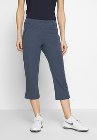 Calvin Klein Golf - ARKOSE CAPRI - 3/4 sports trousers - navy - 0