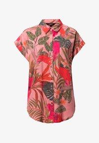 Desigual - ROUS - Button-down blouse - red - 4