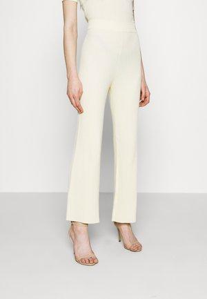 AUBREY TROUSER - Pantalones - cream