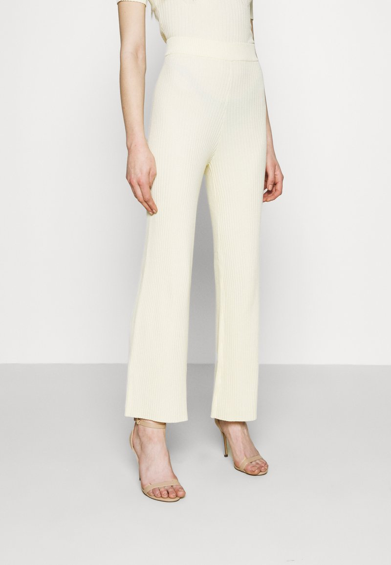 4th & Reckless - AUBREY TROUSER - Trousers - cream