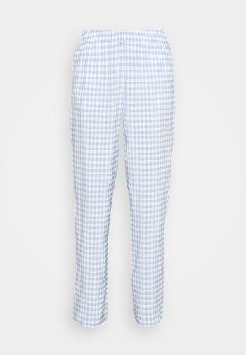 ENCORIANDER PANTS - Pantalon classique - sky blue