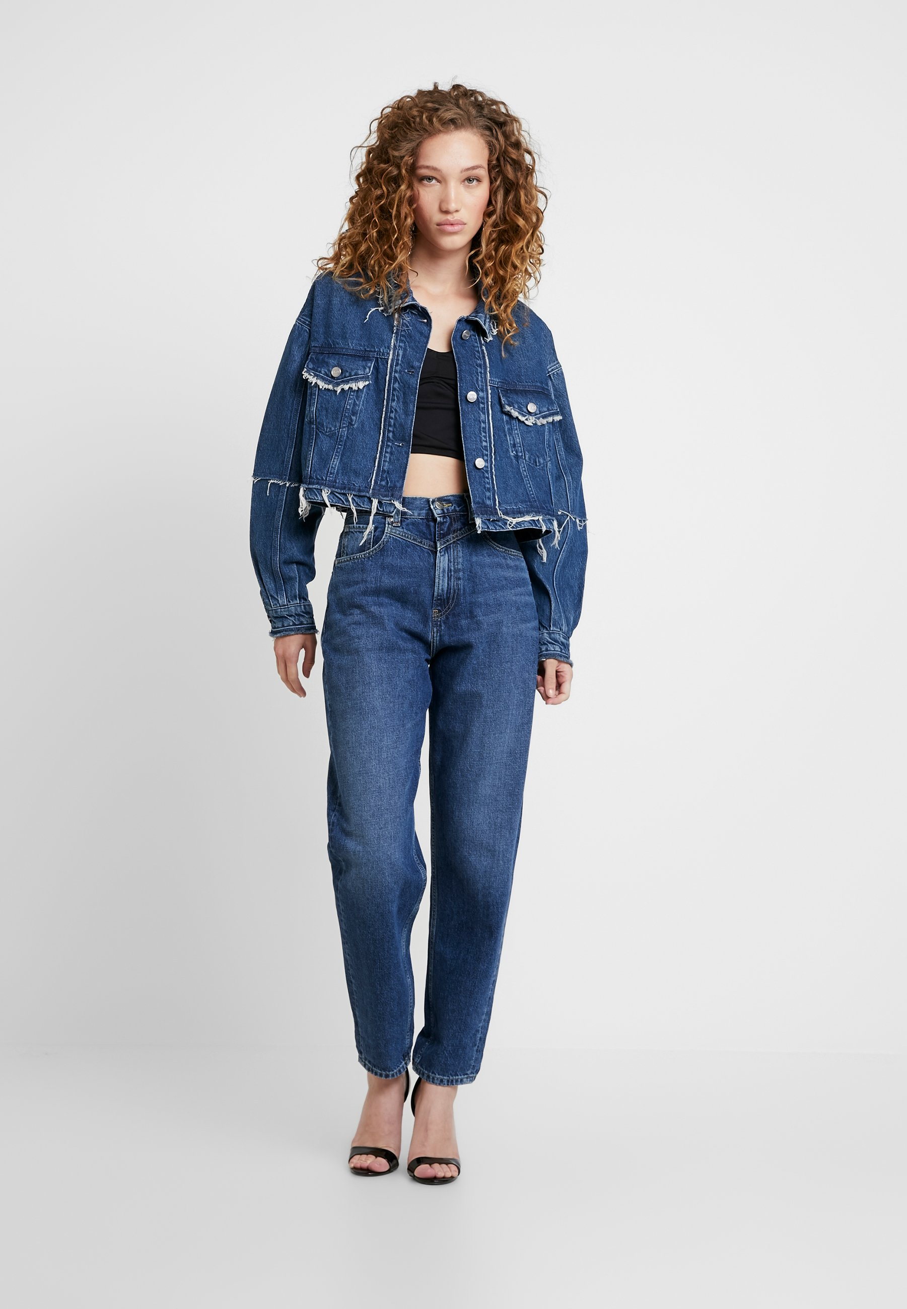 Pepe Jeans DUA LIPA X PEPE JEANS Jeansjakke blue denim
