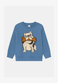 Lindex - AUTHENTIC DOG - Sweater - dusty blue - 0