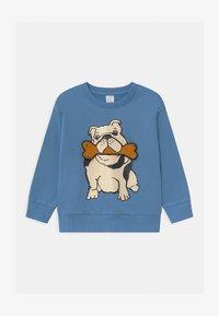 Lindex - AUTHENTIC DOG - Sweatshirt - dusty blue - 0