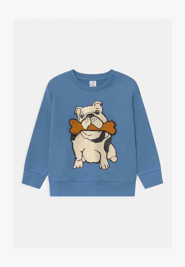 AUTHENTIC DOG - Sweatshirt - dusty blue