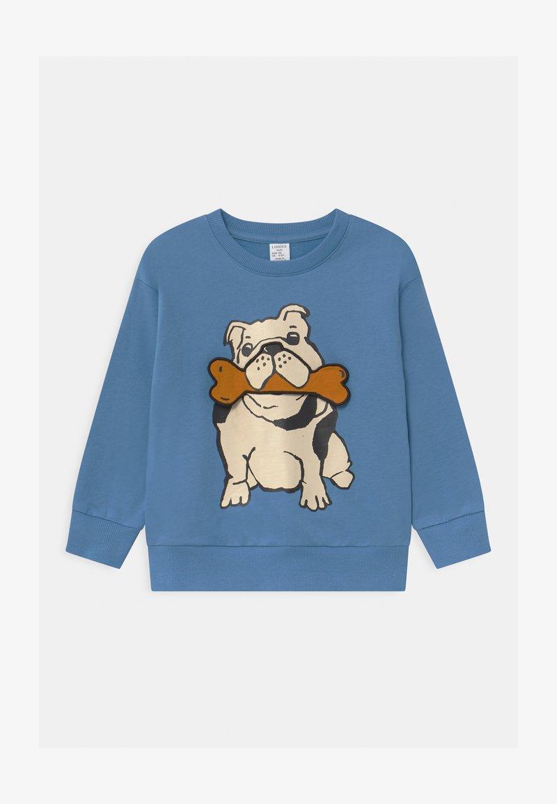 Lindex - AUTHENTIC DOG - Sweatshirt - dusty blue