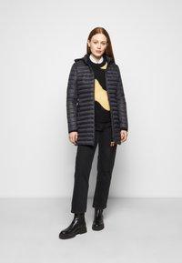 Save the duck - GIGA BRYANNA DETACHABLE HOODED - Winter coat - black - 1
