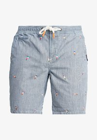 Superdry - SUNSCORCHED - Shorts - blue/white/orange - 5