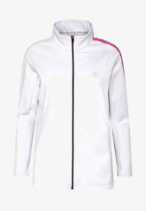 STINGER - Fleecová bunda - white