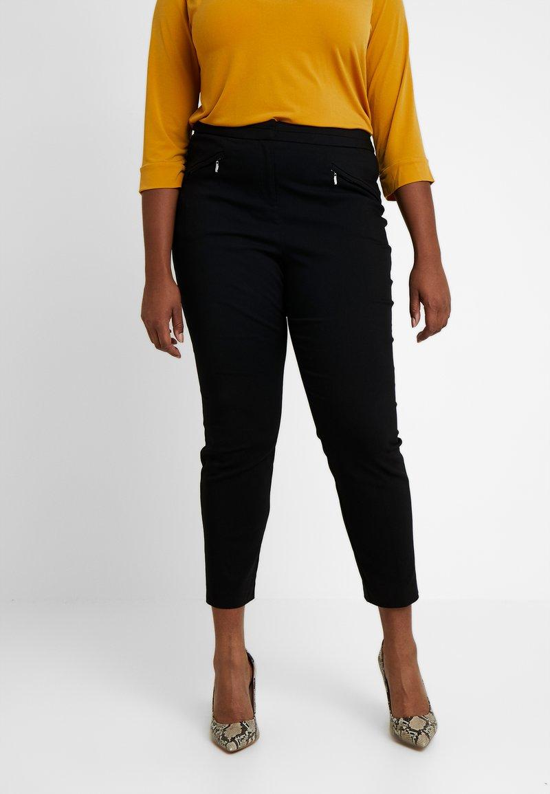 Evans - BENGALINE TROUSER - Trousers - black