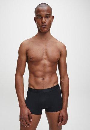 2 PACK - Panties - black/ lush burgundy