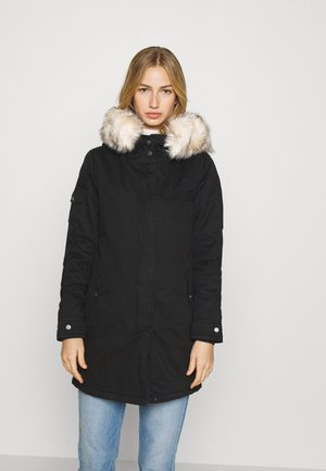 ONLMAY LIFE FUR - Winter coat - black