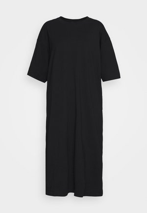 INES DRESS - Jersey dress - black