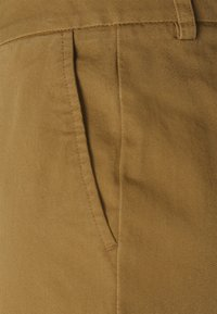 Even&Odd - Wide cropped leg Chino - Trousers - camel - 6