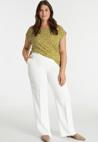 Samoon - Trousers - offwhite - 1
