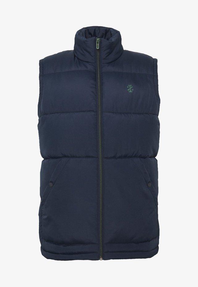 SOLID PUFFER VEST - Vest - navy blazer