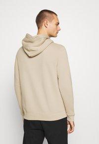 Abercrombie & Fitch - TONAL TECH LOGO - Zip-up hoodie - tan - 2