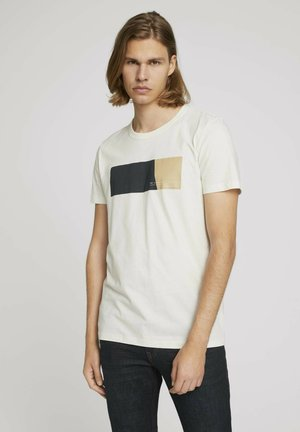 MIT PRINT - T-shirt med print - soft light beige