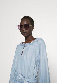 Lauren Ralph Lauren - VAETELL-LONG SLEEVE-DAY DRESS - Maxi dress - indigo mist wash - 3
