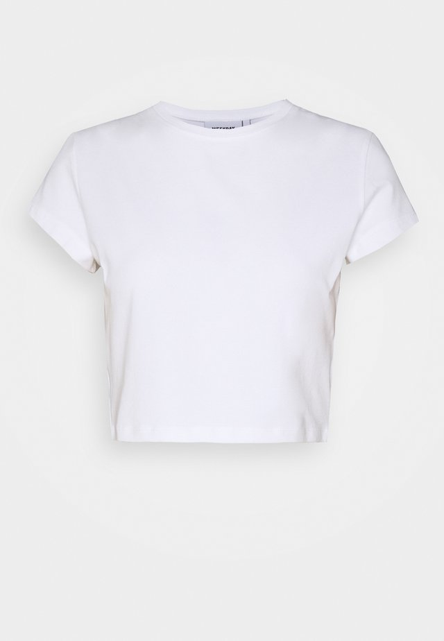 SABRA - Basic T-shirt - white