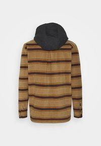 Quiksilver - SUPER SWELL - Fleece jacket - brown - 1