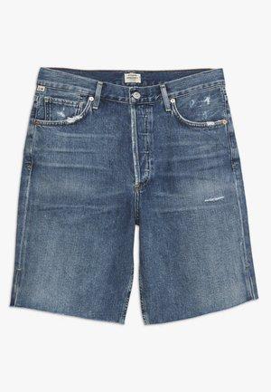 CLAUDETTE CITY  - Szorty jeansowe - blue denim