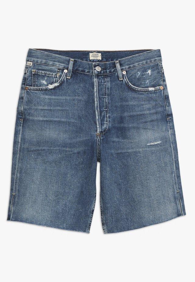 CLAUDETTE CITY  - Jeansshorts - blue denim