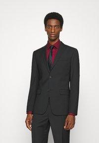 Calvin Klein Tailored - TROPICAL STRETCH SUIT - Suit - black - 0
