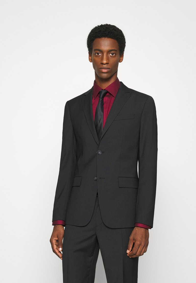 Calvin Klein Tailored - TROPICAL STRETCH SUIT - Suit - black