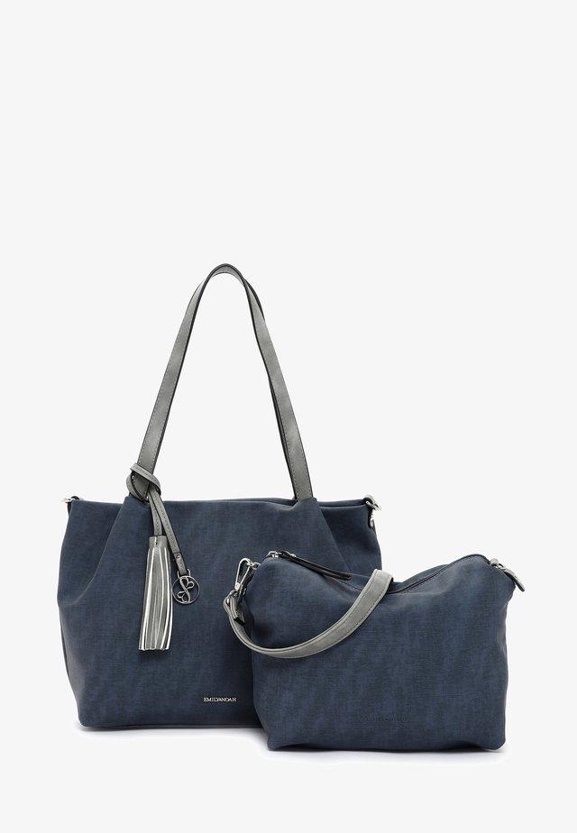 ELKE - Handbag - blue