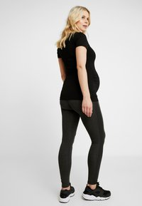 9Fashion - PATRAS - Leggings - Trousers - anthracite melange - 2