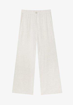 RUSTIKALE - Trousers - beige