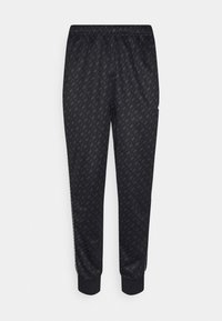 Nike Sportswear - REPEAT - Tracksuit bottoms - black/white - 5