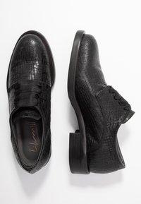 lilimill - VIENNA - Šněrovací boty - fred nero - 3