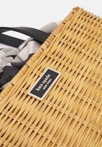 kate spade new york - MEDIUM SATCHEL - Handbag - black/multi - 5