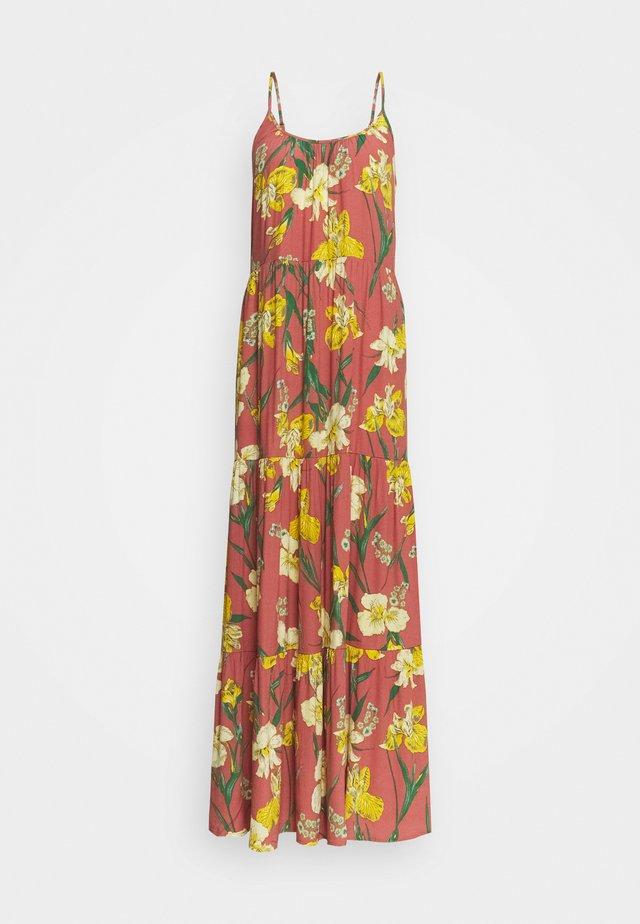 YASTROPICANA STRAP ANKLE DRESS - Vestito lungo - canyon rose